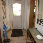 Ferienhaus Dodegge - Eingangsbereich mit Garderobe