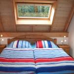 Das Doppelbett im EG